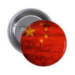 Bandera de madera vieja de China Pin