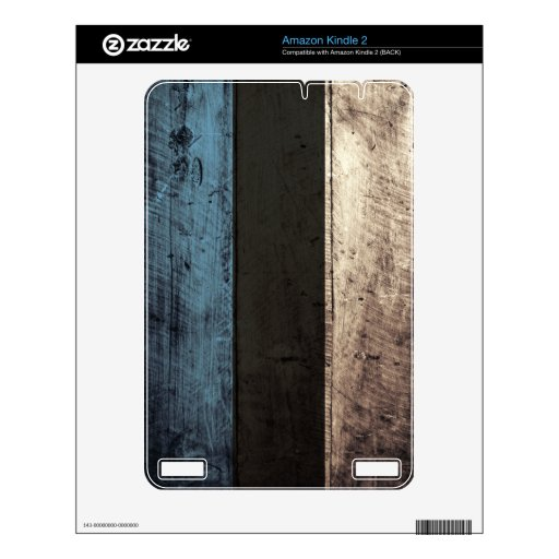 Bandera de madera vieja de Estonia; Skins Para Kindle 2
