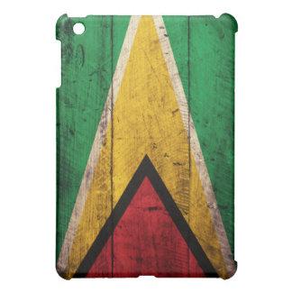 Bandera de madera vieja de Guyana