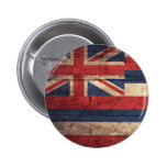 Bandera de madera vieja de Hawaii; Pin