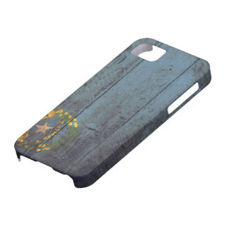 Bandera de madera vieja de Nevada; Funda Para iPhone SE/5/5s