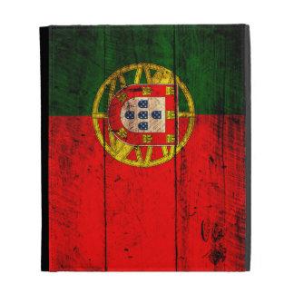 Bandera de madera vieja de Portugal;