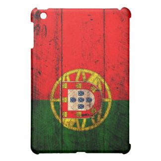 Bandera de madera vieja de Portugal