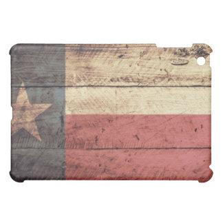 Bandera de madera vieja de Tejas