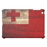 Bandera de madera vieja de Tonga