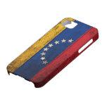Bandera de madera vieja de Venezuela iPhone 5 Coberturas