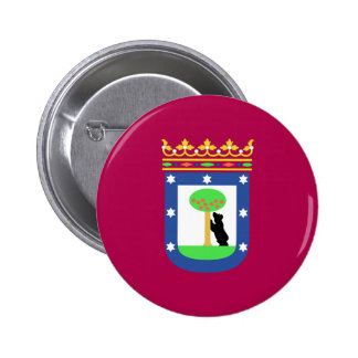 Bandera de Madrid España ciudad