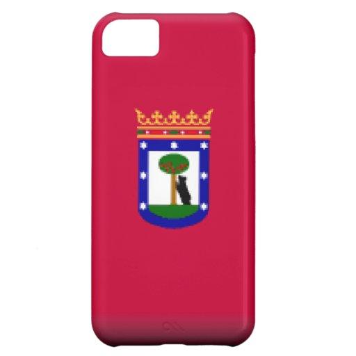 Bandera de Madrid Funda Para iPhone 5C