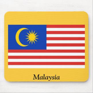 Bandera de Malasia Alfombrillas De Raton