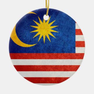 Bandera de Malasia Ornamentos De Navidad