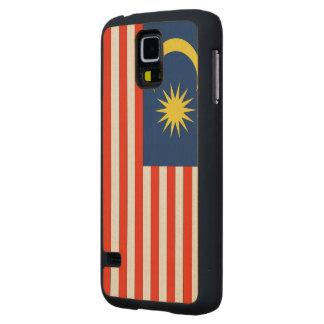 Bandera de Malasia Funda De Galaxy S5 Slim Arce