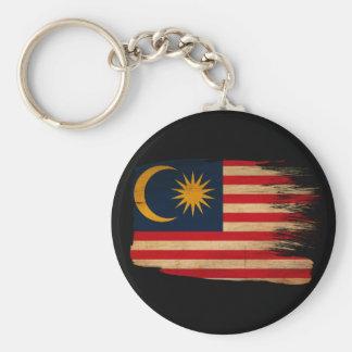 Bandera de Malasia Llavero Redondo Tipo Pin