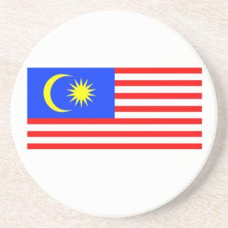 Bandera de Malasia Posavasos De Arenisca