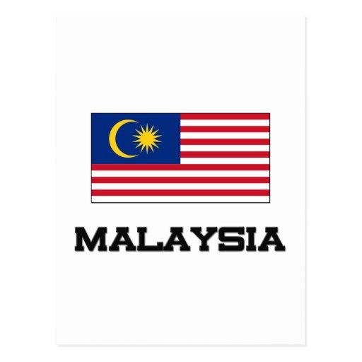 Bandera de Malasia Postal