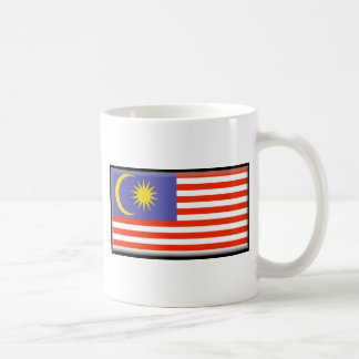 Bandera de Malasia Tazas De Café