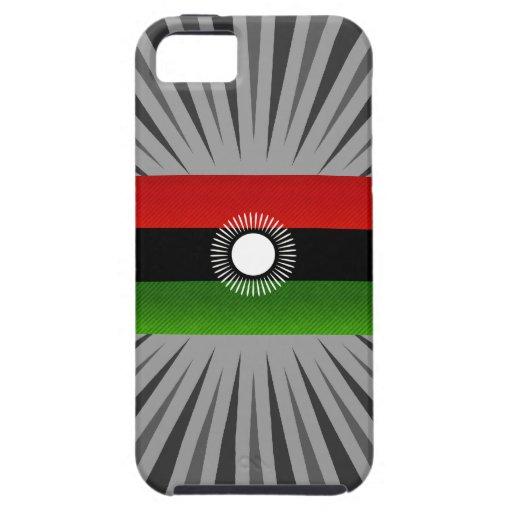 Bandera de Malaui pelada moderna iPhone 5 Carcasa