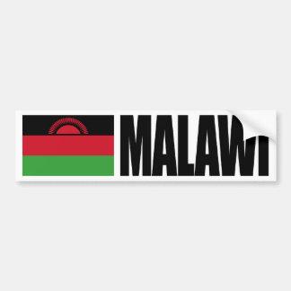 Bandera de Malawi Pegatina De Parachoque