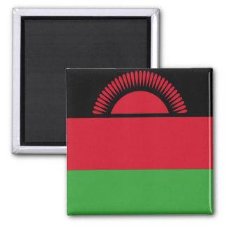 Bandera de Malawi Imán Cuadrado