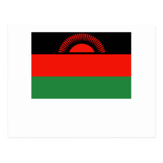 Bandera de Malawi Tarjeta Postal