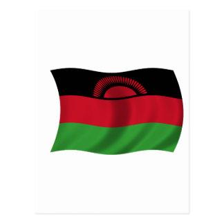 Bandera de Malawi Tarjetas Postales