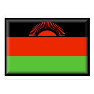 Bandera de Malawi Postales