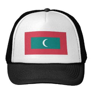 Bandera de Maldivas Gorras De Camionero