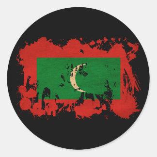 Bandera de Maldivas Pegatinas