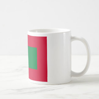 Bandera de Maldivas Taza Clásica