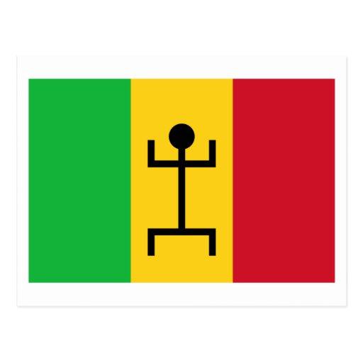 Bandera de Malí (1959-1961) Postal