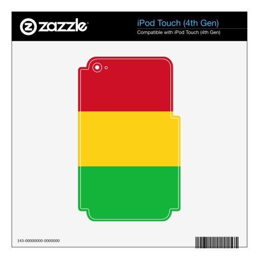 Bandera de Malí iPod Touch 4G Calcomanía