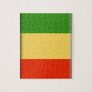 Bandera de Malí Rompecabeza