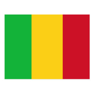Bandera de Malí Tarjeta Postal