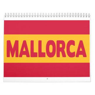 Bandera de Mallorca España Calendarios