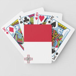 Bandera de Malta Baraja Cartas De Poker