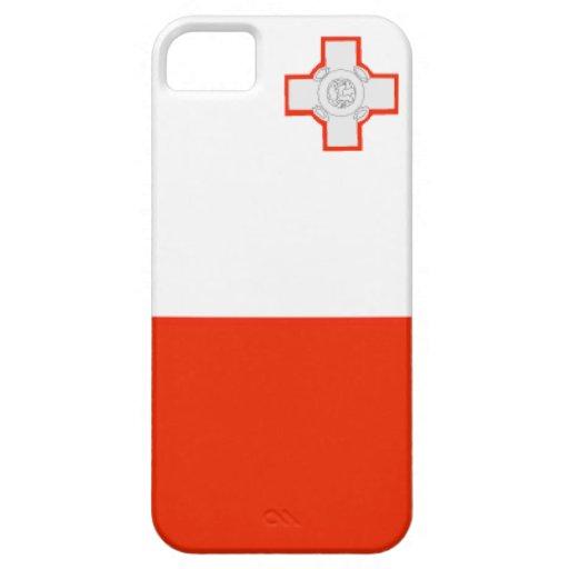 Bandera de Malta iPhone 5 Case-Mate Carcasa