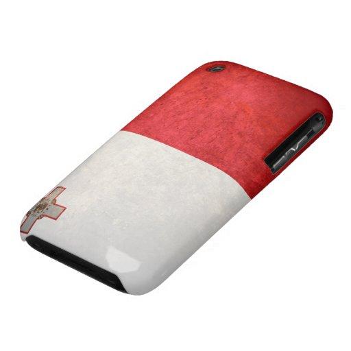 Bandera de Malta Case-Mate iPhone 3 Coberturas
