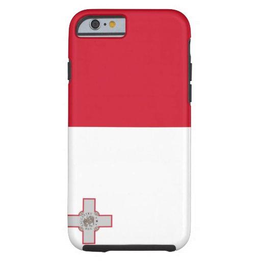 Bandera de Malta Funda De iPhone 6 Tough