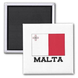 Bandera de Malta Imanes Para Frigoríficos