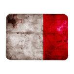 Bandera de Malta Imanes De Vinilo