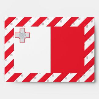 Bandera de Malta Sobres