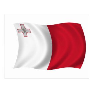 Bandera de Malta Postal
