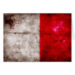 Bandera de Malta Tarjetón
