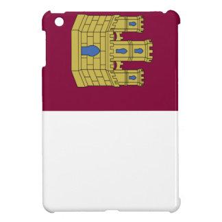 Bandera de Mancha del La de Castilla España iPad Mini Cárcasa