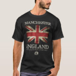 Bandera de Manchester Inglaterra Reino Unido Playera