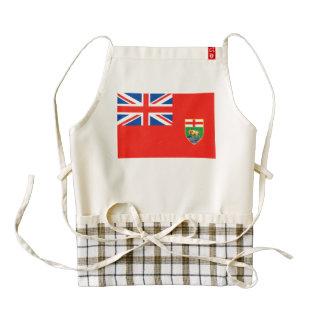Bandera de MANITOBA Delantal Zazzle HEART