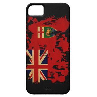 Bandera de Manitoba iPhone 5 Carcasa