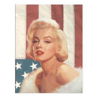 Bandera de Marilyn Postal