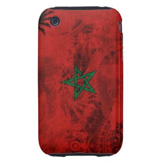 Bandera de Marruecos Tough iPhone 3 Coberturas