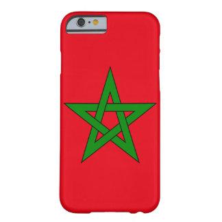 Bandera de Marruecos Funda Para iPhone 6 Barely There