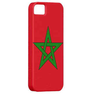 Bandera de Marruecos iPhone 5 Carcasa